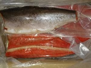 冷凍紅鮭フィレ(7〜9枚/8kg)