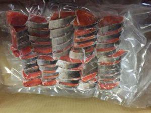 紅鮭切身(25gx50切)